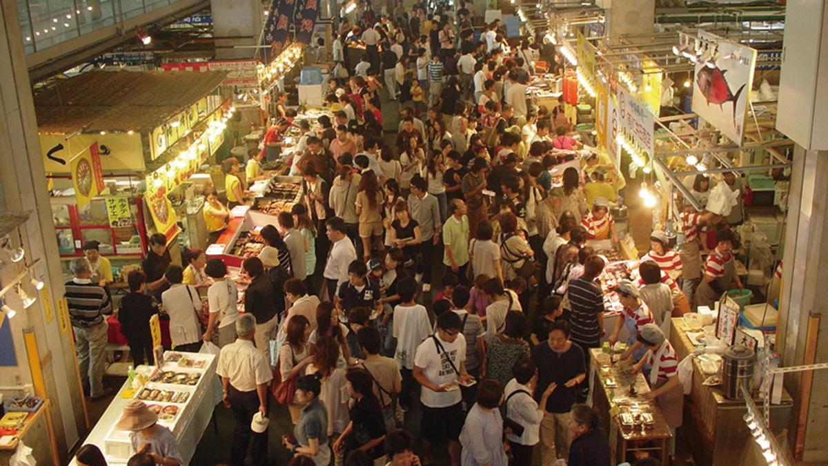 Karato Market (Shimonoseki City)